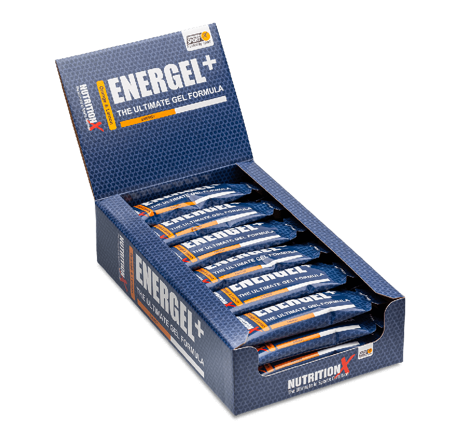 Energel+ Fast-Acting Energy Gel (24 x 50g)