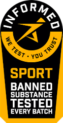 Informed Sport Banned Substance tested every batch