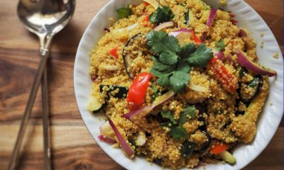 Vegan Black Bean and Quinoa Salad