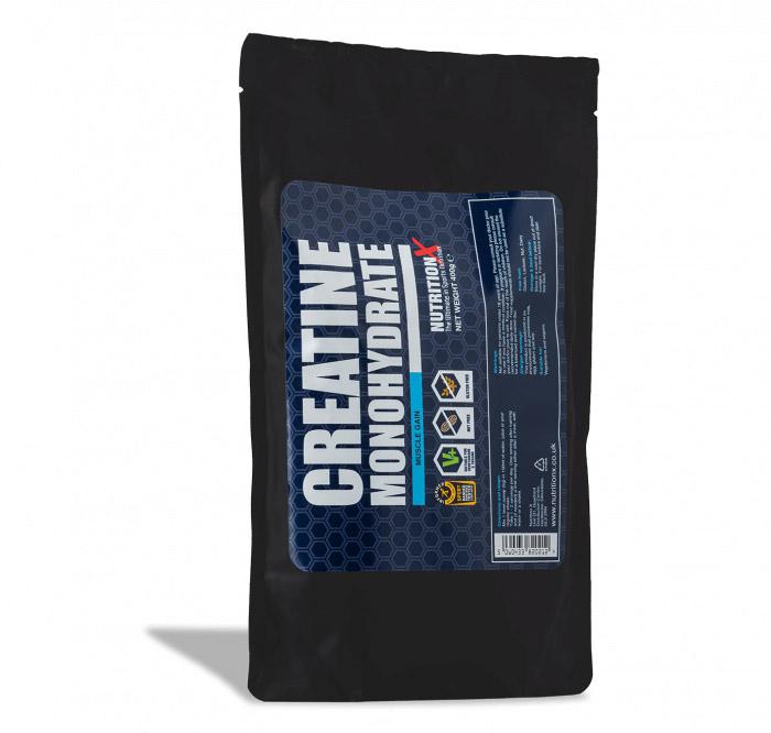 Creatine Monohydrate Powder 400g Pouch (Informed Sport Certified)