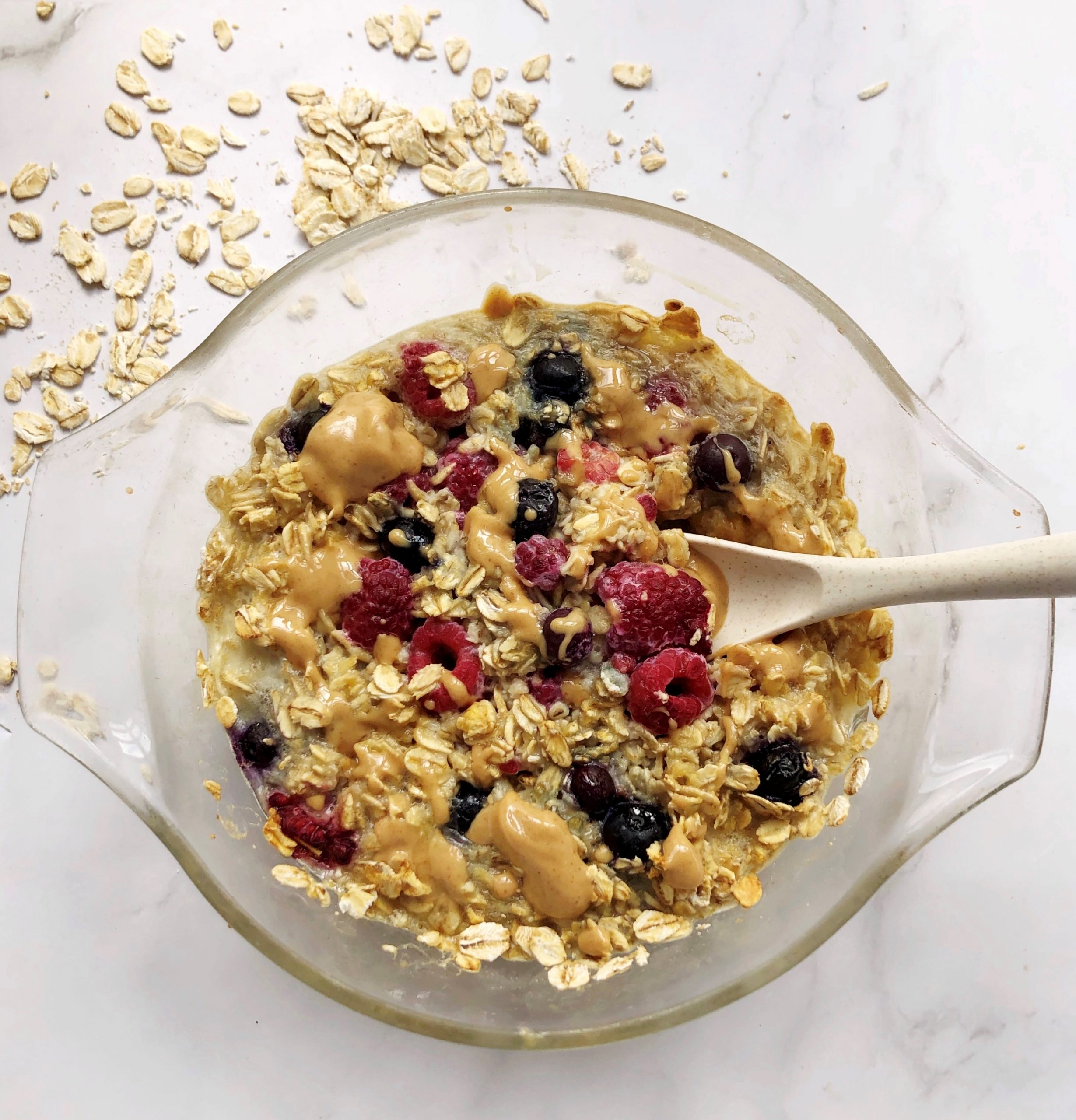 Baked Protein Oats