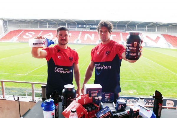 Nutrition X Joins Super League with St. Helens R.F.C Partnership