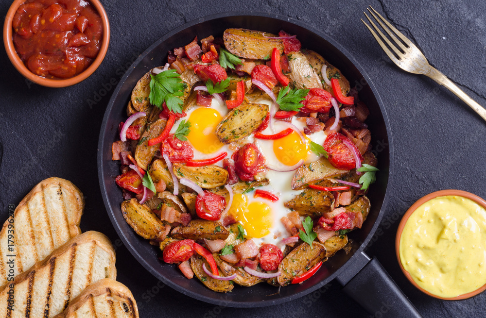 Vitamin C-Rich Breakfast Hash